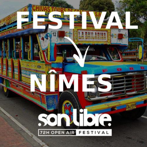 Shuttle Festival vers Nîmes