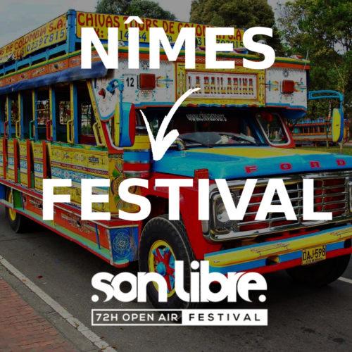 Shuttle Nîmes vers Festival
